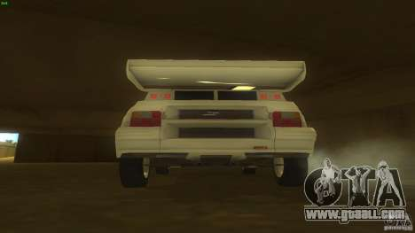 Citroen BX 4TC for GTA San Andreas right view