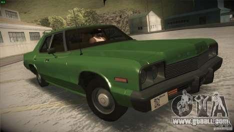 Dodge Monaco for GTA San Andreas side view