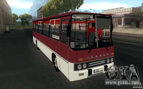 IKARUS 250 for GTA San Andreas back view