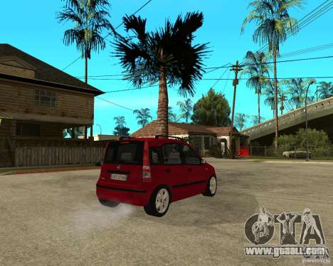 2004 Fiat Panda v.2 for GTA San Andreas back left view