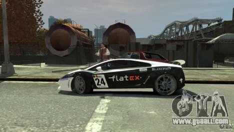 Lamborghini Gallardo SE Threep Edition [EPM] for GTA 4 bottom view