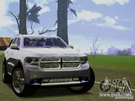 Dodge Durango 2012 for GTA San Andreas