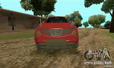 Nissan Juke for GTA San Andreas right view