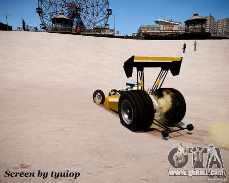 Raketomobil′ for GTA 4 side view