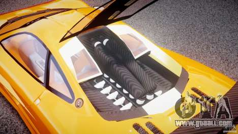 Mc Laren F1 LM v1.0 for GTA 4 back view