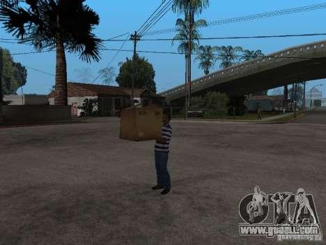 CJ-Kleptomaniac for GTA San Andreas third screenshot