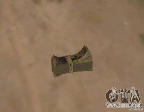 Kazakh money for GTA San Andreas third screenshot