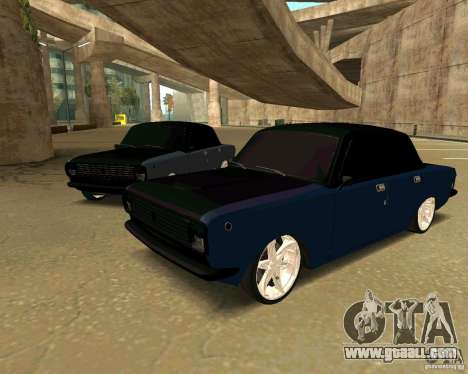 GAZ 24 for GTA San Andreas back left view