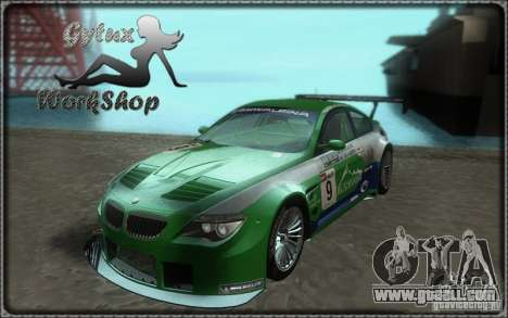 Alpina B6 GT3 for GTA San Andreas