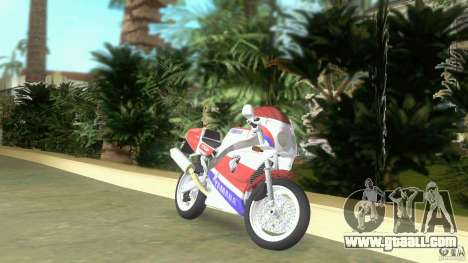 Yamaha FZR 750 original plain for GTA Vice City