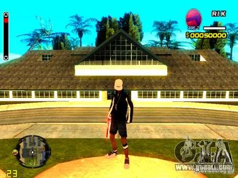 Skin bum v8 for GTA San Andreas forth screenshot