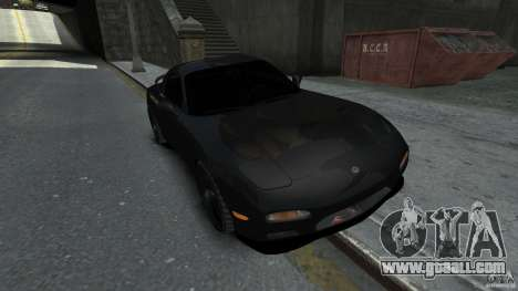 Mazda RX7 1995 Black [EPM] for GTA 4
