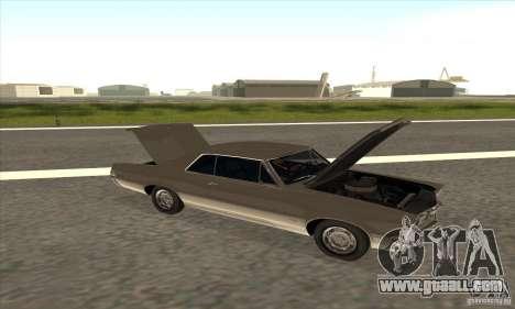 Pontiac GT-100 for GTA San Andreas back view