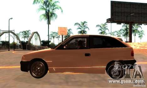 Opel Astra 1993 for GTA San Andreas left view