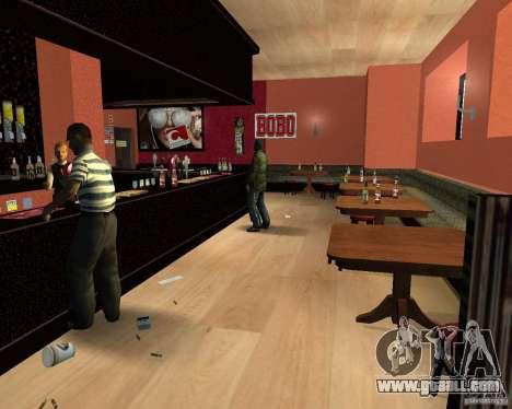 A new bar in Gantone for GTA San Andreas forth screenshot
