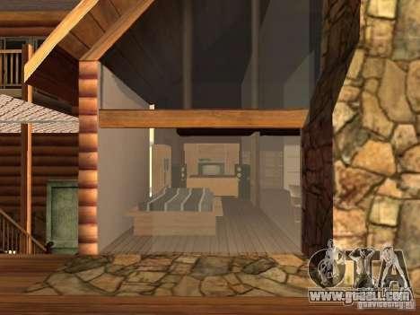 Villa in San Fierro for GTA San Andreas sixth screenshot
