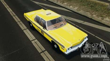 Dodge Monaco 1974 Taxi v1.0 for GTA 4 engine