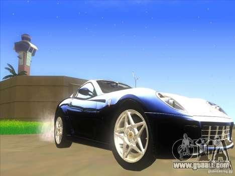 Ferrari 599 GTB Fiorano for GTA San Andreas left view