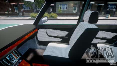 Mercedes-Benz 280SE W116 for GTA 4 inner view