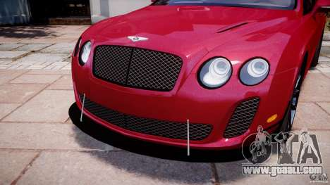 Bentley Continental SS v2.1 for GTA 4 upper view
