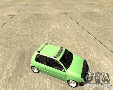 Volkswagen Lupo Hellaflush for GTA San Andreas side view