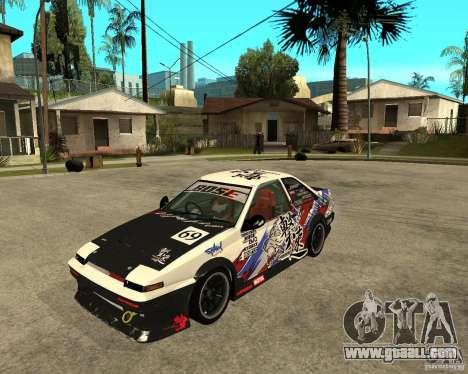 Yoshikazu AE86 for GTA San Andreas