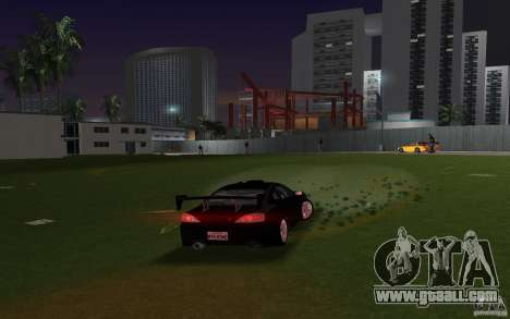 Nissan Silvia spec R Tuned for GTA Vice City back left view