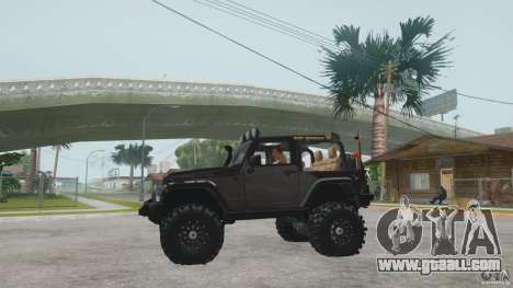 Jeep Wrangler Off road v2 for GTA San Andreas right view