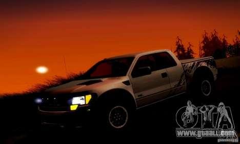 Ford F-150 SVT Raptor V1.0 for GTA San Andreas engine
