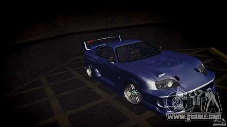 Toyota Supra Tuned for GTA San Andreas left view