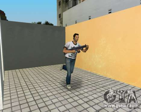 Sig552 for GTA Vice City second screenshot