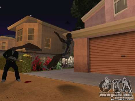 The effect of shot up close for GTA San Andreas