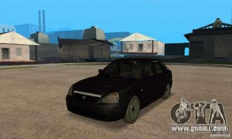 LADA priora 2172 hatchback for GTA San Andreas