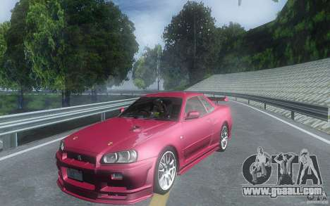 Nissan Skyline GT-R R34 M-spec Nur for GTA San Andreas