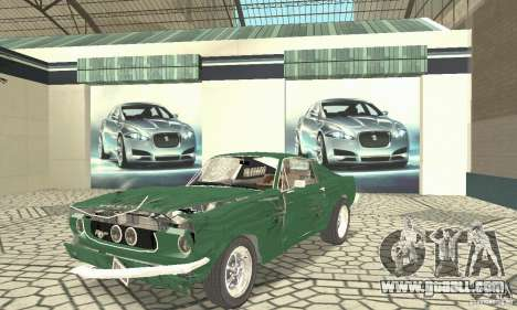 Ford Mustang Fastback 1967 for GTA San Andreas side view