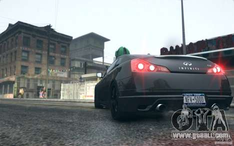 Infiniti G37 Coupe Carbon Edition v1.0 for GTA 4 right view