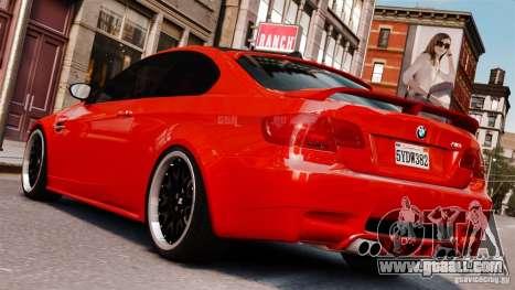 BMW M3 E92 2009 HAMANN for GTA 4 left view