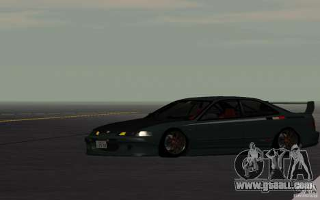 Honda Integra Type R for GTA San Andreas back view