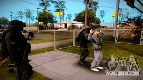 S.W.A.T. for GTA San Andreas third screenshot