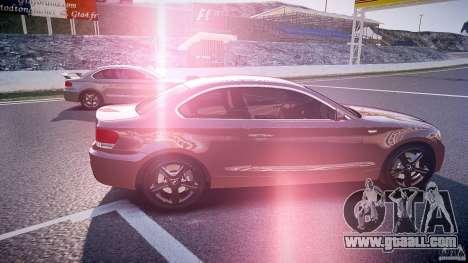 BMW 135i Coupe v1.0 2009 for GTA 4 inner view