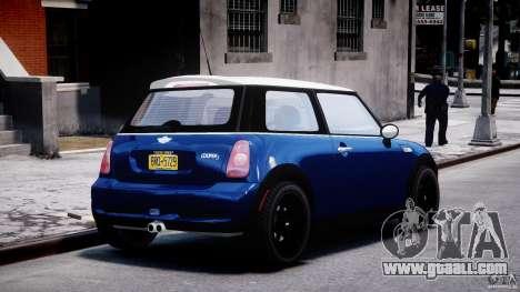 Mini Cooper S 2003 v1.2 for GTA 4 side view