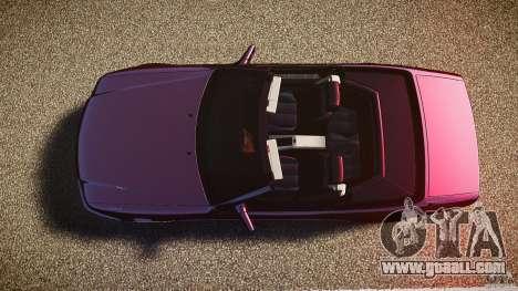 Mercedes Benz SL500 Custom for GTA 4 right view