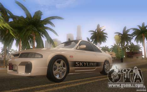 Nissan Skyline R33 GTS25t Stock for GTA San Andreas inner view