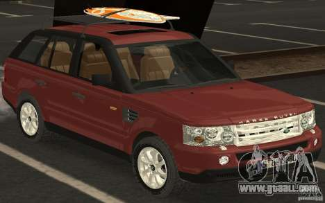 Land Rover Range Rover 2007 for GTA San Andreas back left view