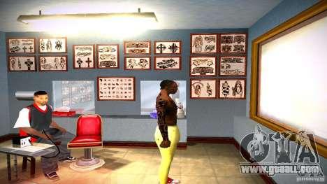 Three new tattoo for GTA San Andreas eighth screenshot