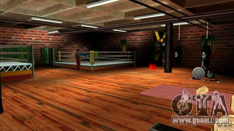 Gym for GTA San Andreas second screenshot