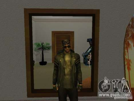 Skull jacket for GTA San Andreas second screenshot