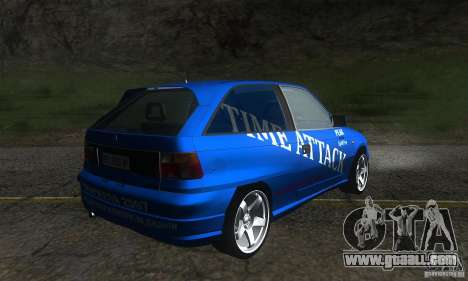 Opel Astra Time Attack for GTA San Andreas right view