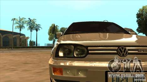 Volkswagen Golf MK3 VR6 for GTA San Andreas side view