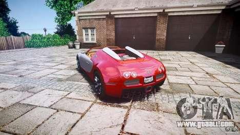 Bugatti Veyron Grand Sport [EPM] 2009 for GTA 4 inner view